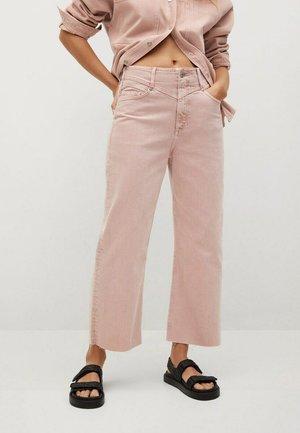 JULIETA - Flared Jeans - licht/pastelpaars