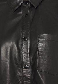 Ivy Copenhagen - KYLIE - Button-down blouse - black - 2