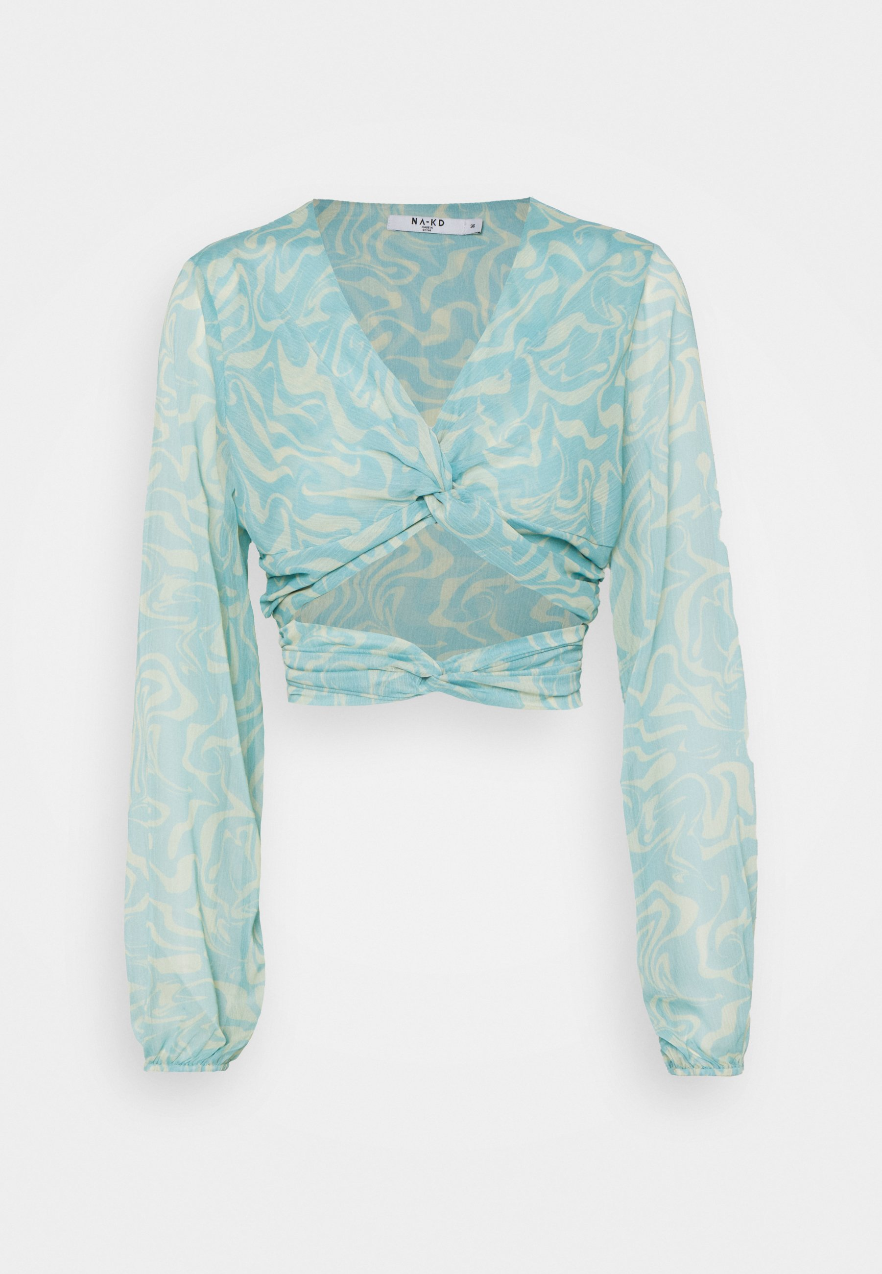 Women KNOT DETAILED CREPE - Blouse