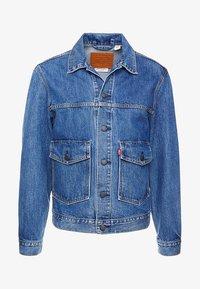 Levi's® - PATCH POCKET TRUCKER - Denim jacket - blue denim - 4