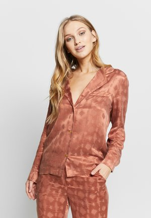 JEANNE - Pyjamashirt - copper