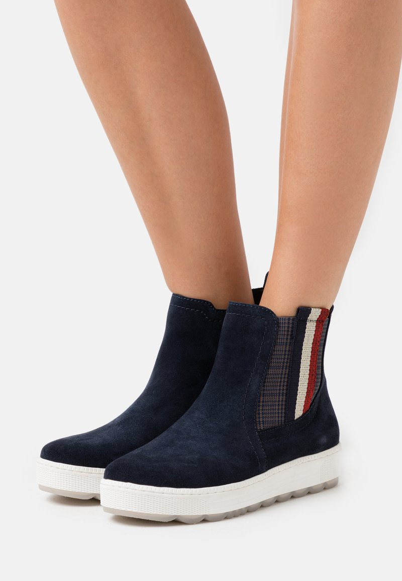 Jana - Classic ankle boots - navy