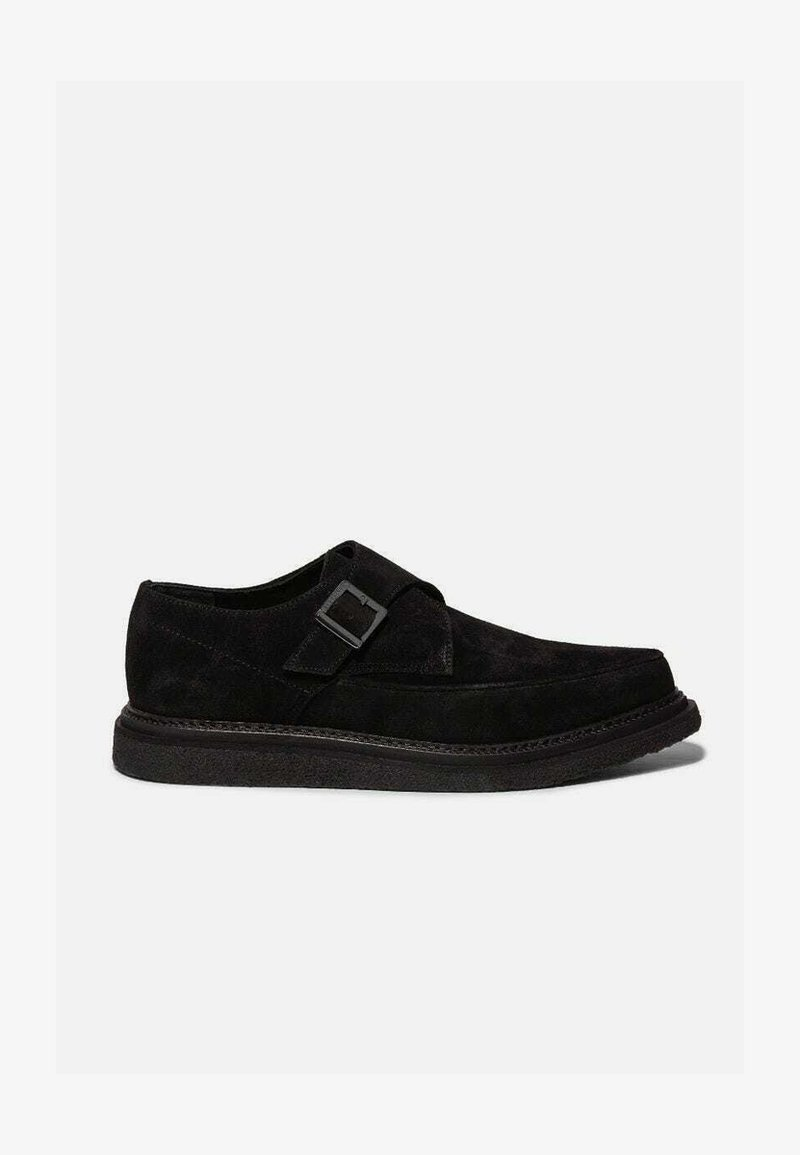 AllSaints - Smart slip-ons - black