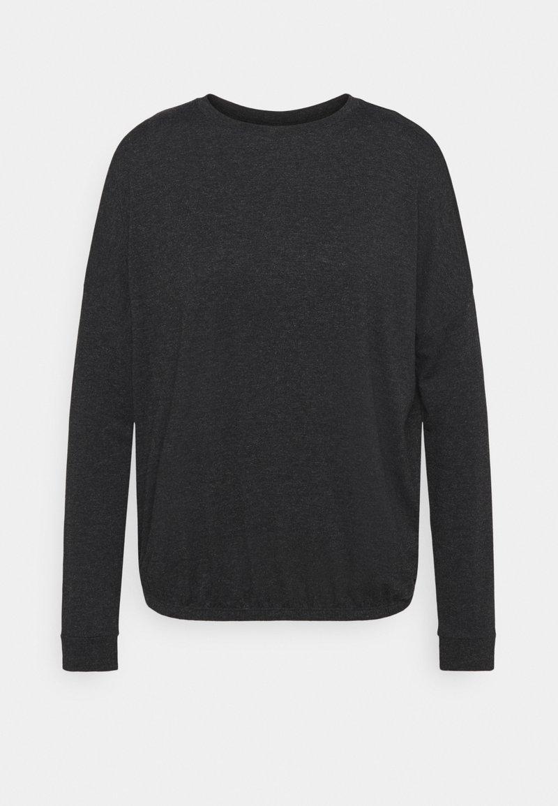 Opus - SANNO - Long sleeved top - slate grey melange