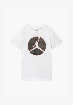 JUMPMAN CAMO TEE - T-shirt con stampa - white