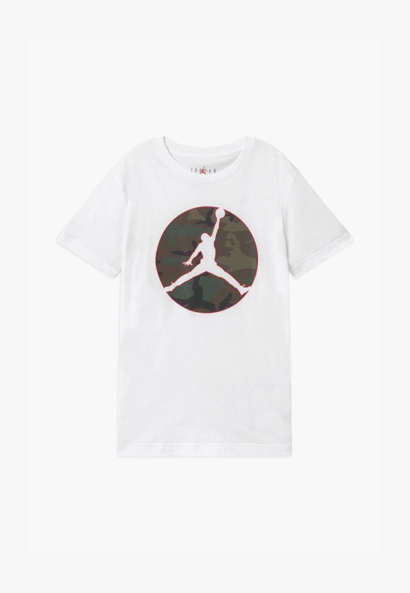 Jordan - JUMPMAN CAMO TEE - Triko spotiskem - white