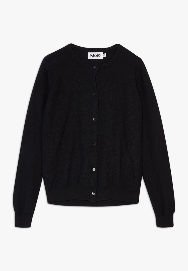 GEORGINA - Strikjakke /Cardigans - black