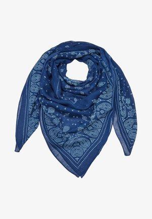 Halsdoek - blue multicolored