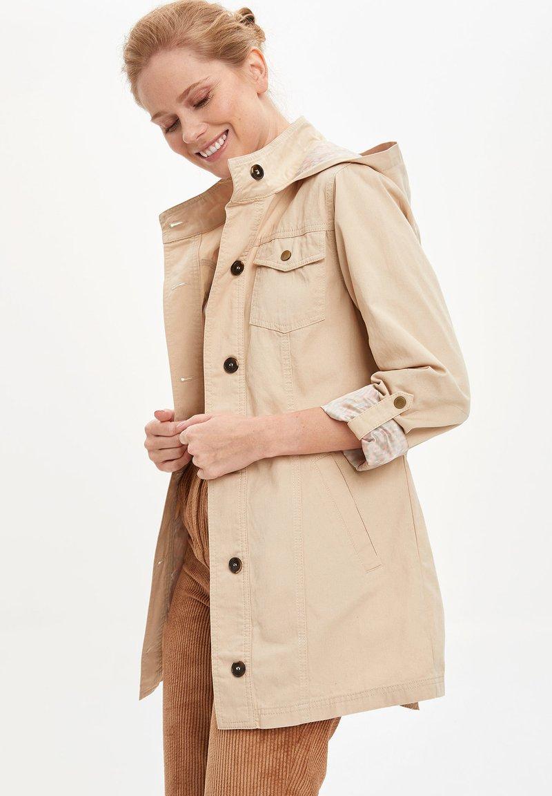 DeFacto - Short coat - beige