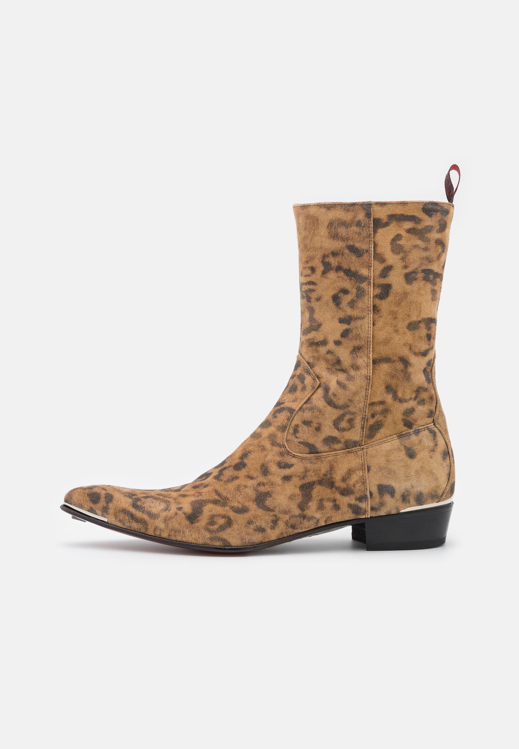 Men ADAMANT LONG ZIP BOOT UNISEX - Cowboy/biker ankle boot