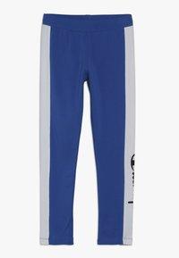 Champion - CHAMPION X ZALANDO COLORBLOCK LOGO  - Leggings - blue/white - 0