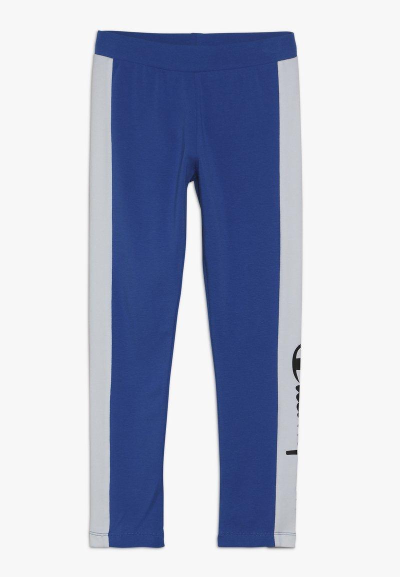 Champion - CHAMPION X ZALANDO COLORBLOCK LOGO  - Leggings - blue/white