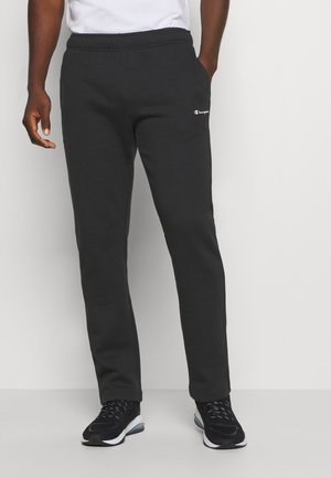 LEGACY STRAIGHT HEM PANTS - Verryttelyhousut - black
