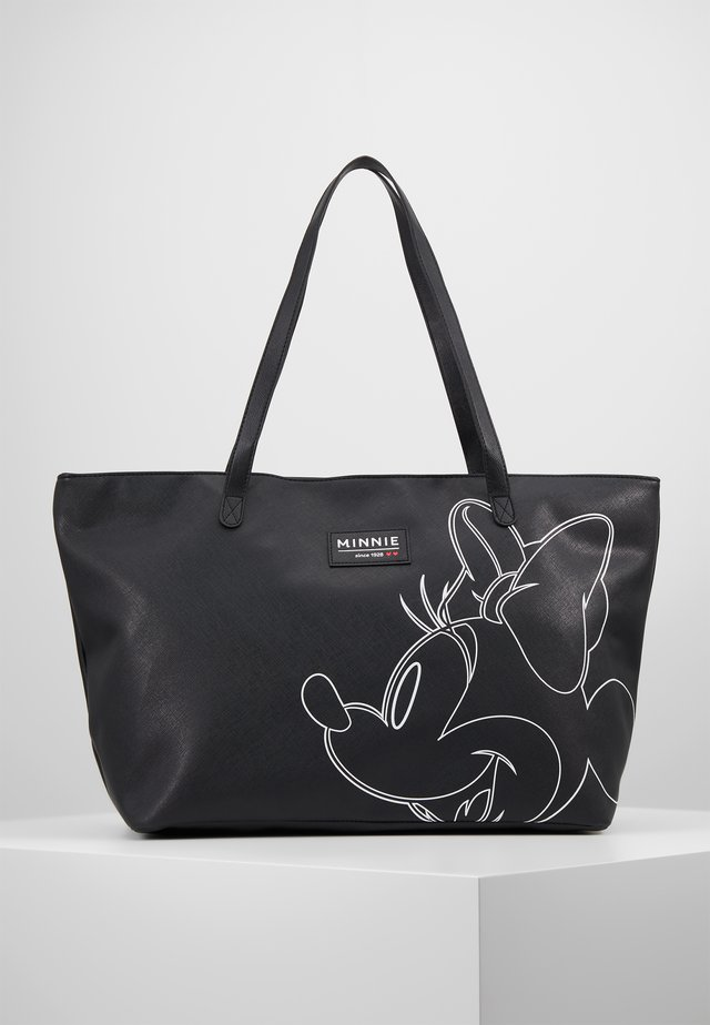 MINNIE MOUSE FOREVER FAMOUS SHOPPER - Borsa fasciatoio - black