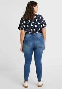 Even&Odd Curvy - Jeans Skinny Fit -  dark blue - 2