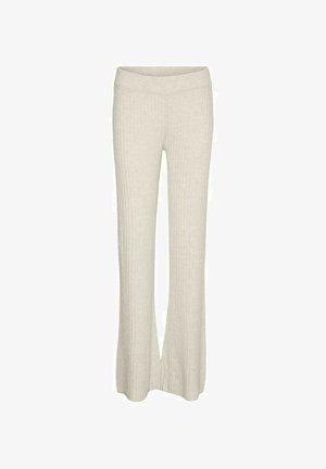 Trousers - off. white melange