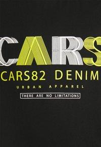Cars Jeans - WANDER PLUS - Print T-shirt - black - 2