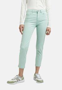 Esprit - MR CAPRI - Trousers - light aqua green - 4
