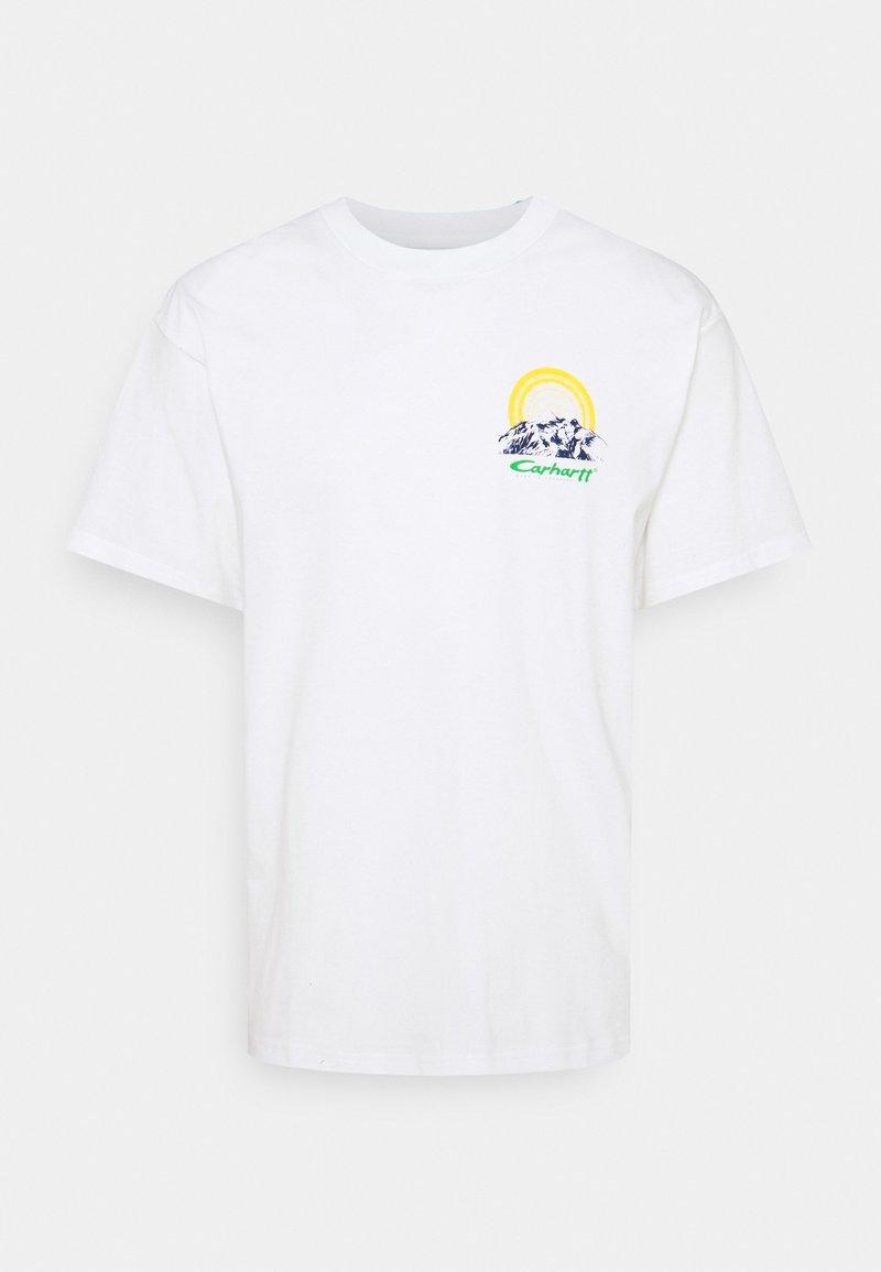 Carhartt WIP - MOUNTAIN - Printtipaita - white