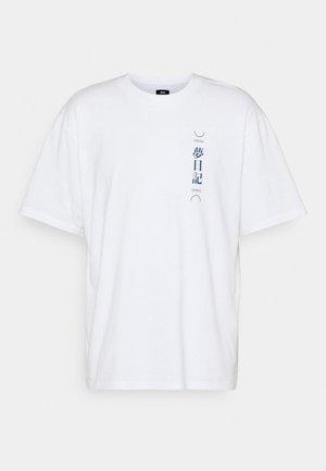 DREAM DIARIES UNISEX - Potiskana majica - white