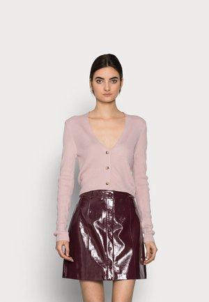 CROP - Cardigan - pink