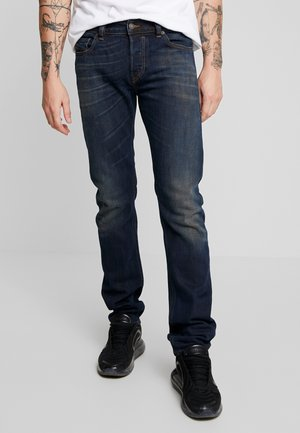 SAFADO - Straight leg jeans - dark blue denim