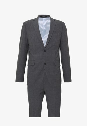 CHECKED SUIT - Traje - grey