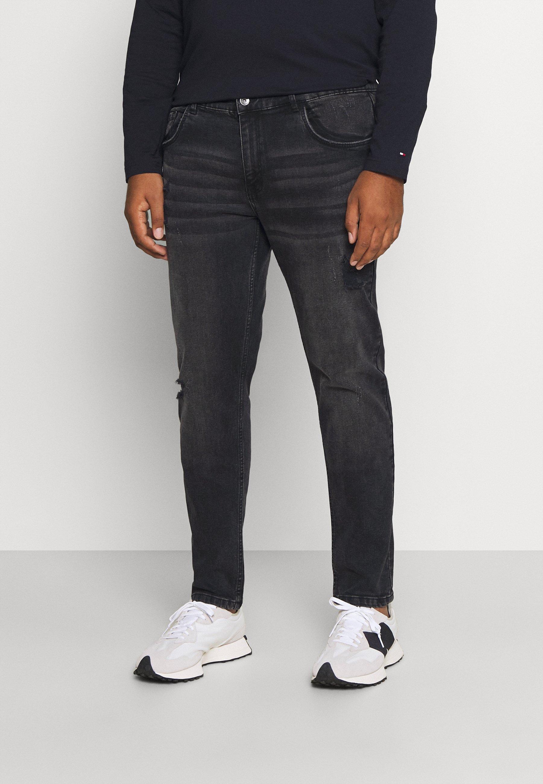 Men STOCKHOLM DESTROY PLUS - Slim fit jeans