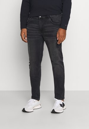 STOCKHOLM DESTROY PLUS - Slim fit jeans - duke black