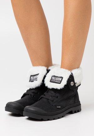 BAGGY  - Šněrovací kotníkové boty - black