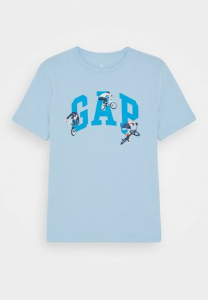 BOYS VALUE GRAPHIC - Print T-shirt - blue focus