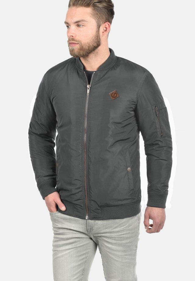 REGULAR FIT - Bomber Jacket - dark grey