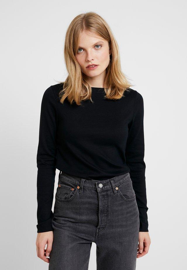 BOAT - Long sleeved top - true black