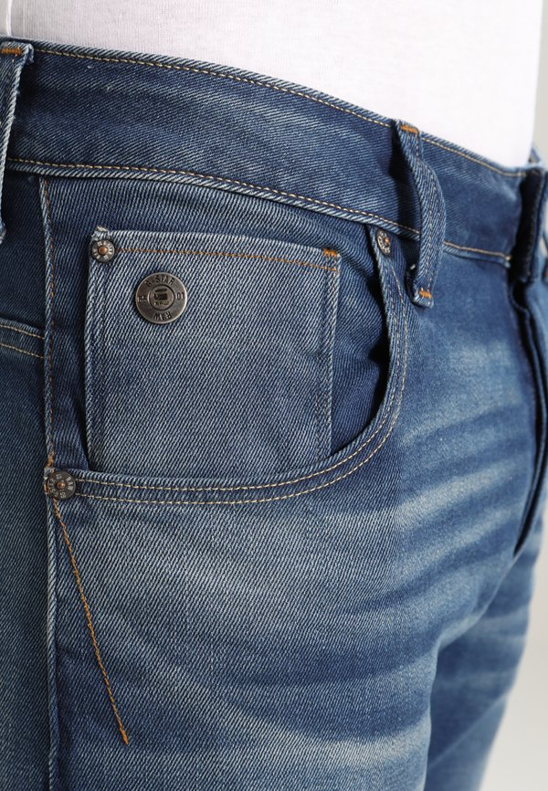 G-Star ARC 3D SLIM - Jeansy Slim Fit - blue/niebieski denim Odzież Męska ATCV