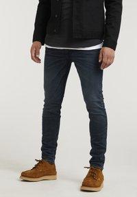 CHASIN' - EGO TRESS - Slim fit jeans - dark blue - 0
