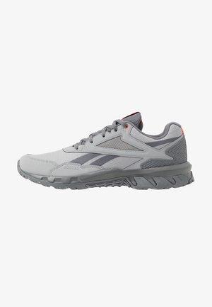 RIDGERIDER 5.0 - Běžecké boty do terénu - grey/vivid orange