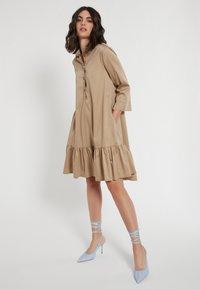 Ana Alcazar - Shirt dress - beige - 1