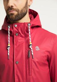 Schmuddelwedda - Waterproof jacket - rot - 3