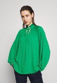Lauren Ralph Lauren - DRAPEY - Long sleeved top - hedge green - 0
