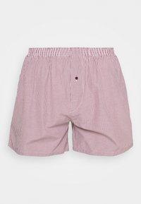 Pier One - 5 PACK - Boxer shorts - bordeaux - 2