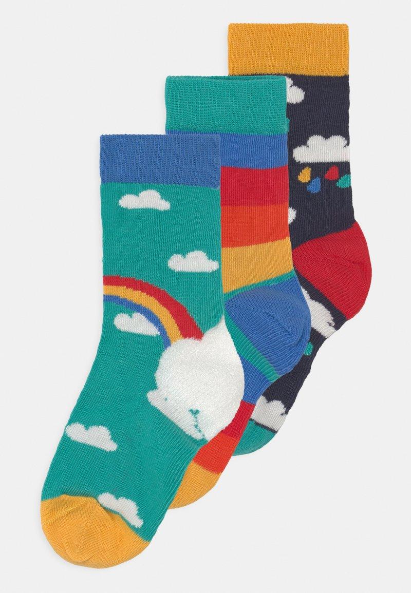 Frugi - ROCK MY SOCKS 3 PACK UNISEX - Socks - pacific aqua