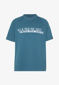 Napapijri The Tribe - SIRE  - Print T-shirt - mallard blue - 4
