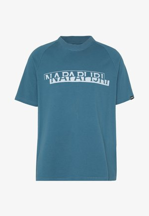SIRE  - T-shirt z nadrukiem - mallard blue