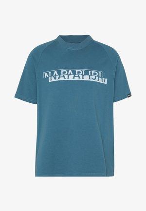 SIRE  - T-shirt med print - mallard blue