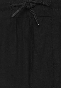 Denim Project - CROPPED PANT - Tygbyxor - black - 2
