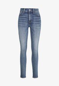 Topshop - ZED  - Jeans Skinny Fit - blue denim - 3