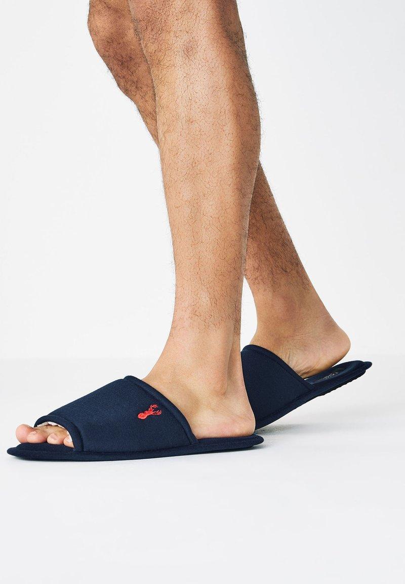 Next - Slippers - dark blue