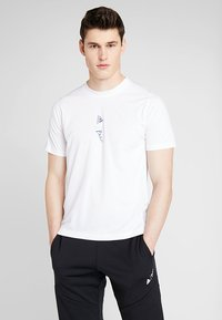 adidas Performance - PARLEY TEE REGULAR FIT T-SHIRT - Funktionsshirt - white - 0