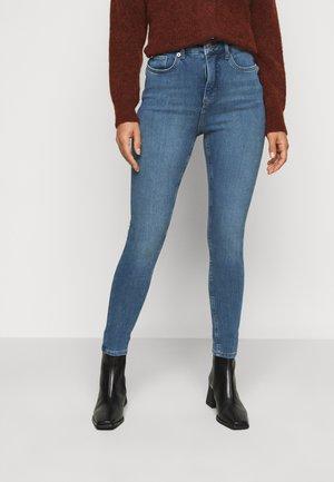 CONTOUR - Skinny džíny - mid blue