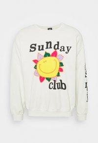 BDG Urban Outfitters - SUNDAY CLUB UNISEX - Sweatshirt - stone - 0
